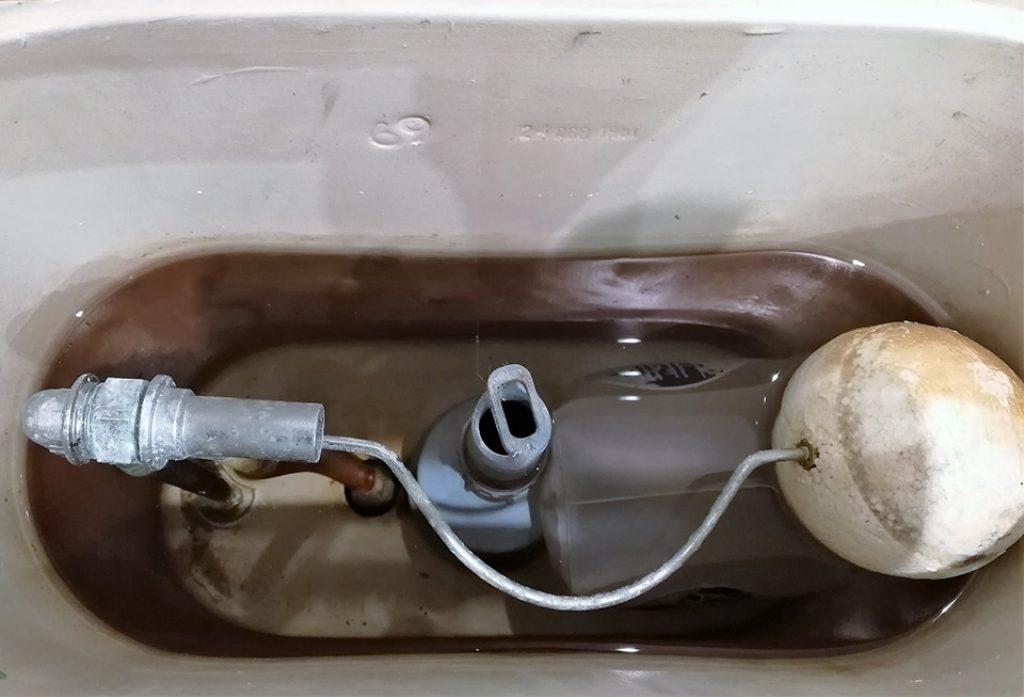 Modelo de cisterna antigua