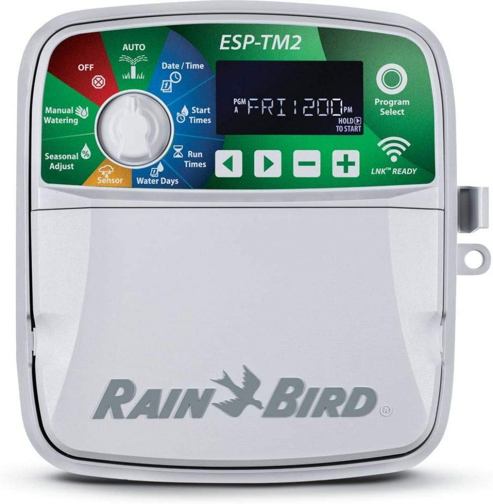 Programador para exterior de la marca Rain Bird, para 4 a 12 estaciones